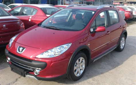 peugeot china file peugeot 307 cross 01 china 2013 03 04 jpg wikimedia