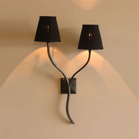 Iron Wall Lights The Ailsworth Candle Wrought Iron Wall Light