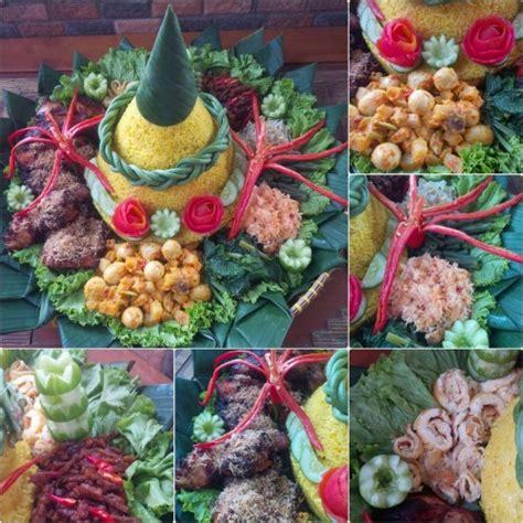 membuat hiasan tumpeng nasi kuning resep tumpeng nasi kuning komplit the urban mama