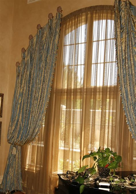 curtains arched windows 25 best ideas about window sheers on pinterest curtain