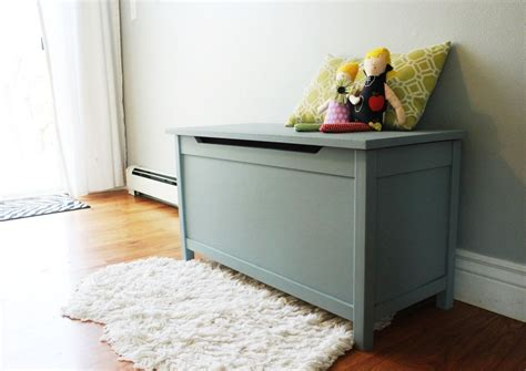 diy toy chest bench diy modern wooden toy box with lid a step by step tutorial