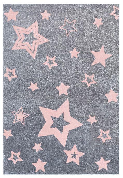 grauer teppich mit teppich mit sternen grau rosa honeyhome ch