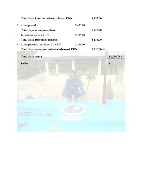 Penghapus Sayur 2 laporan kkn desa hatu ralan 2014