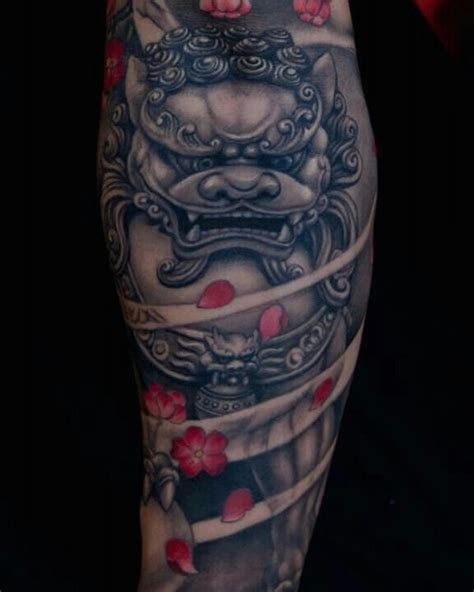 korean tattoo history 25 breathtaking foo dog tattoos