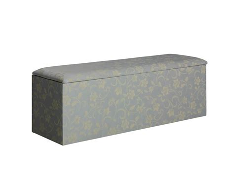 Padded Ottoman With Storage Dune Upholstered Contemporary Ottoman