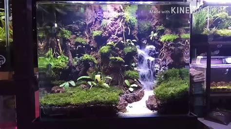 Pasir Kandila Aquascape Air Terjun 1kg aquascape forest with a sand waterfall hutan air terjun pasir