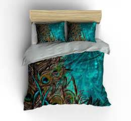 peacock bedroom set luxe bedding teal peacock duvet cover set peacock bedding