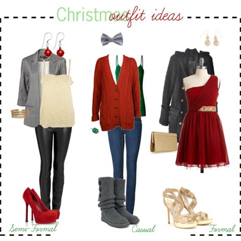 christmas outfit ideas polyvore