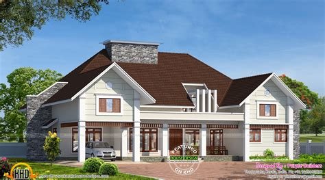 One Story Craftsman Bungalow House Plans bungalow house in kerala kerala home design and floor plans