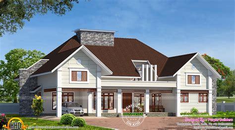 Bungalow Designs And Floor Plans Bungalow House In Kerala Kerala Home Design And Floor Plans