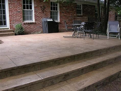 Price To Pour Concrete Patio by 33 Best Images About Cement Stairs On Pinterest