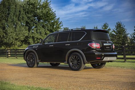 nissan armada price 2018 nissan armada gets new tech priced from 45 600