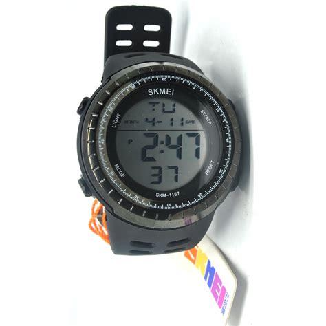Mc O6 Jam Tangan Pria Skmei Sport 1167 Casio Skmei Sunnto Skmei Or skmei jam tangan digital pria 1167 black black jakartanotebook