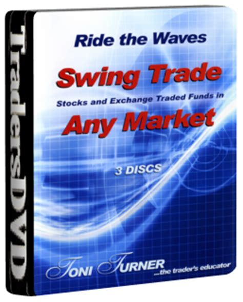 swing trading stocks swing trade stocks and etfs in any market 3 dvd set by