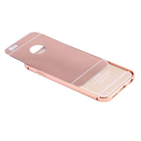 Bumper Mirror Iphone 5s G Gold iphone gradient mirror shockproof bumper
