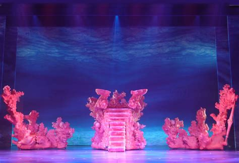 kitchen theatre little mermaid set ideas pinterest coral stage under the sea little mermaid jr pinterest