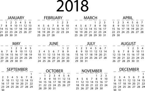 Calendar 2018 Png Clipart 2018 Calendar