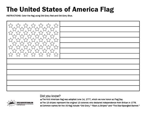 printable coloring page usa free coloring pages