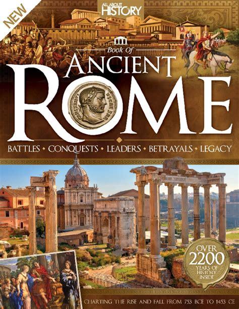 history book  ancient rome magazine digital