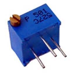resistor volume 500 ohm trimmer potentiometer variable resistor bourns 3299p 500 west florida components