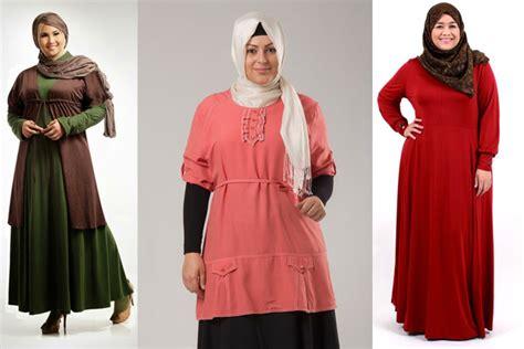 Gamis Besar model baju gamis ukuran besar tetap cantik