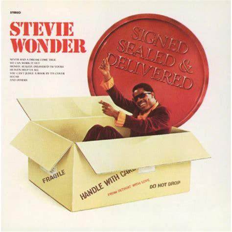 signed sealed and delivered stevie wonder download and