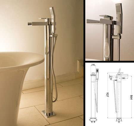 Shower Bath Room waterfall freestanding bath tap amp shower livinghouse