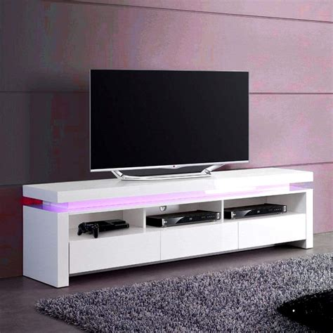 white tv wall unit aquachic high gloss white wall unit size w 250mm