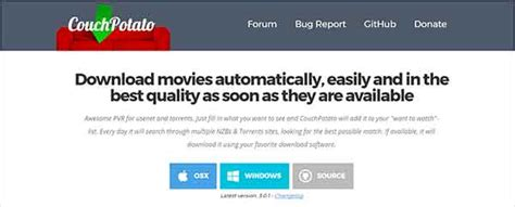 couch potato download tv shows best popcorn time alternatives to watch movies and tv shows