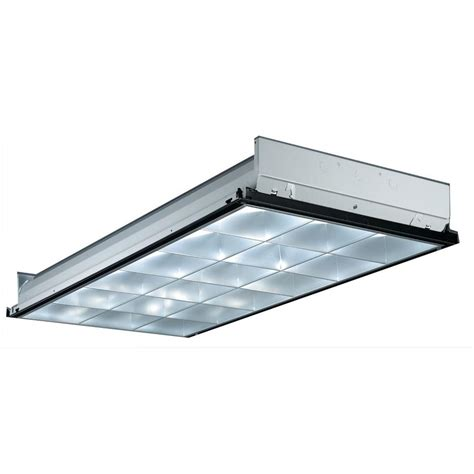Troffer Light Fixtures Lithonia Lighting 2gt8 4 32 A12 Mvolt 1 4 Mvispws1836lp741 4 Light White Fluorescent Troffer