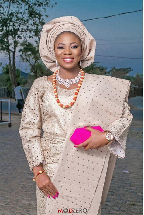 yoruba iro and buba style with lace and picture photography modzero