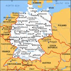 Map Of Northern Germany by German 103 Class Page Northern Virginia Community College