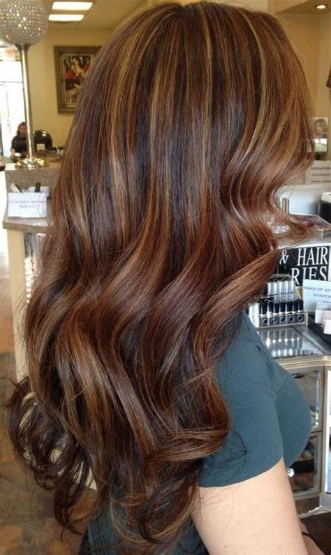 colour ideas highlighting trends for dark brown hair dark brown hairs