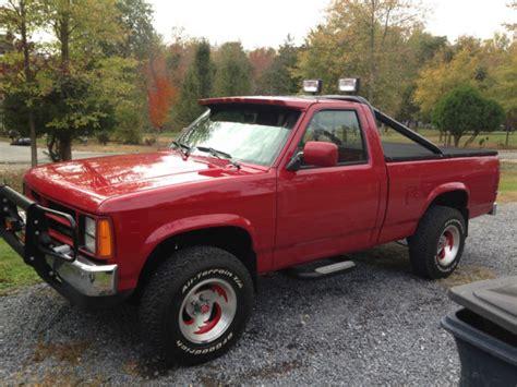 Dodge Dakota 4x4 1989 Dodge Dakota 360 V8 4x4 Supertruck W Nitrous