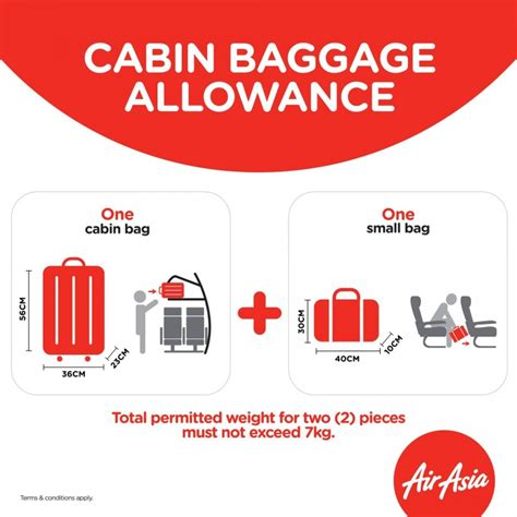 Cabin Baggage Size Allowance by Airasia Strictly Enforces A 7kg Weight Limit On Carry On