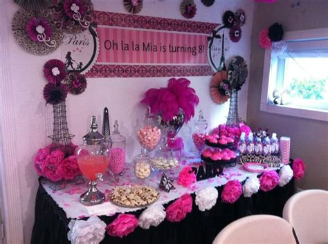 best 25 paris party decorations ideas on pinterest