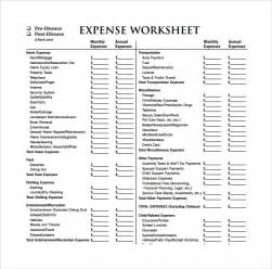 expense sheet template 10 download free documents for pdf