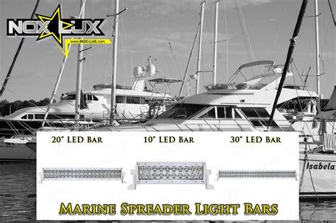 boat led lights for sale dual row led marine spreader lights now for sale on nox