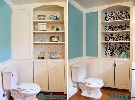 bathroom built in shelves sprucing up the bathroom built in blog homeandawaywithlisa