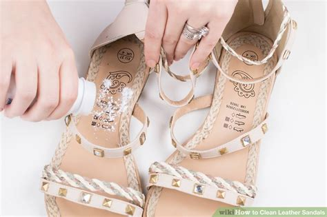 how to clean leather sandals how to clean leather sandals 13 steps with pictures