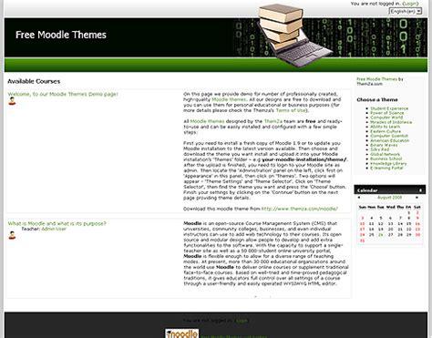moodle theme base l apprentissage en ligne un mod 232 le gratuit de design