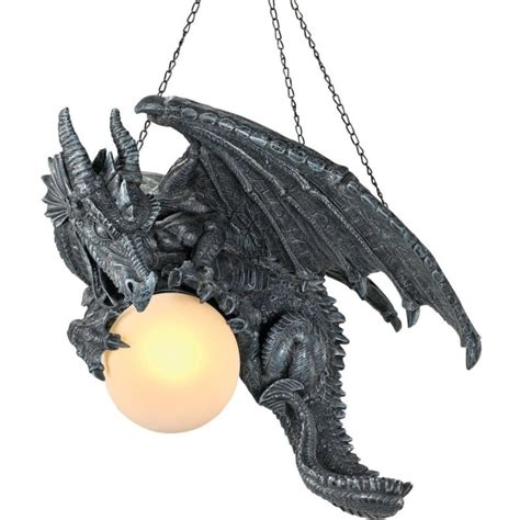 dragon decorations for a home medieval twilight dragon ceiling light gothic home decor