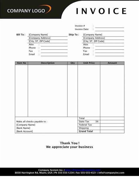 Sle Quickbooks Invoice Invoice Template Ideas Quickbooks Invoice Templates