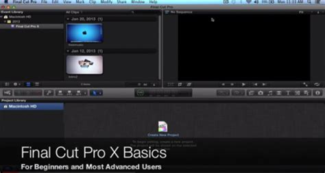 final cut pro tutorial beginner free tutorials for final cut pro x online tagged quot intro quot