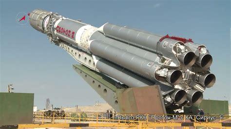 Proton Rocket by Proton M Ses 5 Spacevids