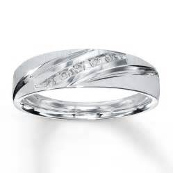 mens wedding band s wedding band 1 15 ct tw cut 10k white gold