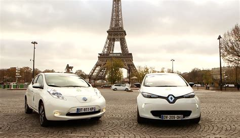 renault paris future renault nissan evs to share same platform