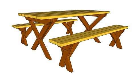 free picnic table plans with separate benches plans for a picnic table and benches quick woodworking projects