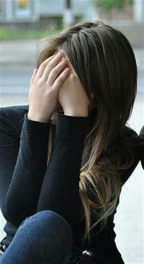 Stylish Hidden Face Girl Photos | funny sad love sms photos pics images stylish hidden face