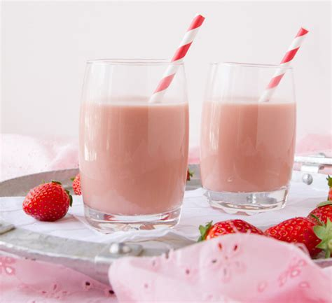 Starter Home Plans by Ultra Creamy Vegan Strawberry Milk Healthful Pursuit